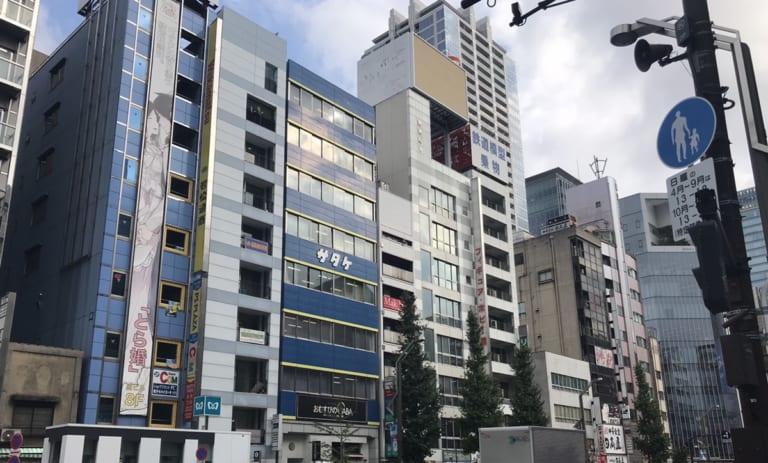秋葉原オフィス(9階) /パーティーラウンジ (8階)外観